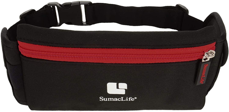 SumacLife Running Pouch Waist Belt Runner Waistband Bag Fit for Motorola Moto G7, G7 Power, G7 Play, G7 Plus, One, One Power, Z3 Play, E5 Plus, E5, E5 Play, G6 Plus, G6 Play, G6