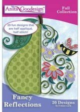 Anita Goodesign Full Collection - Fancy Reflections ~ Embroidery Designs