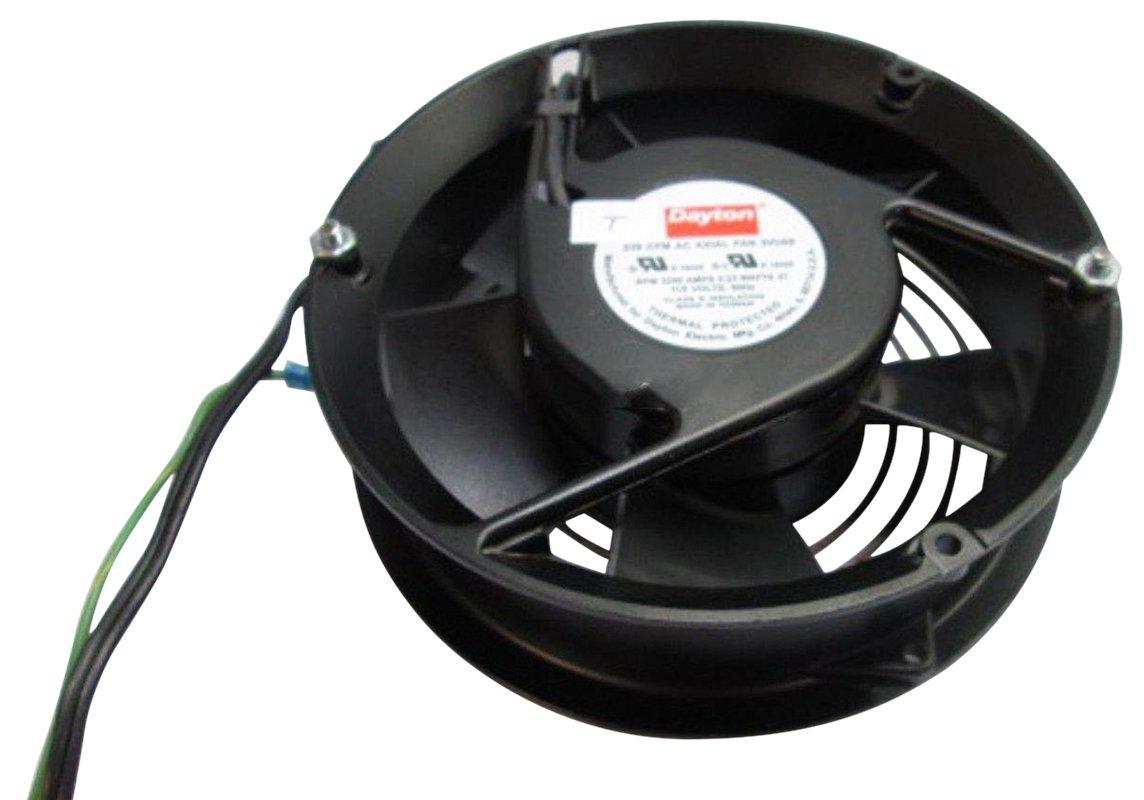 Dayton 3VU69 Fan, Axial, 239 CFM, 115V, Degrees_Fahrenheit, to Volts, Amps, (