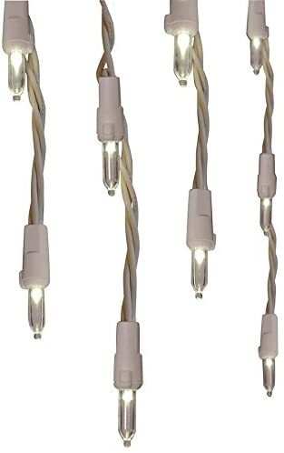 General Electric GE 300 LED Warm White Icicle Style Lights