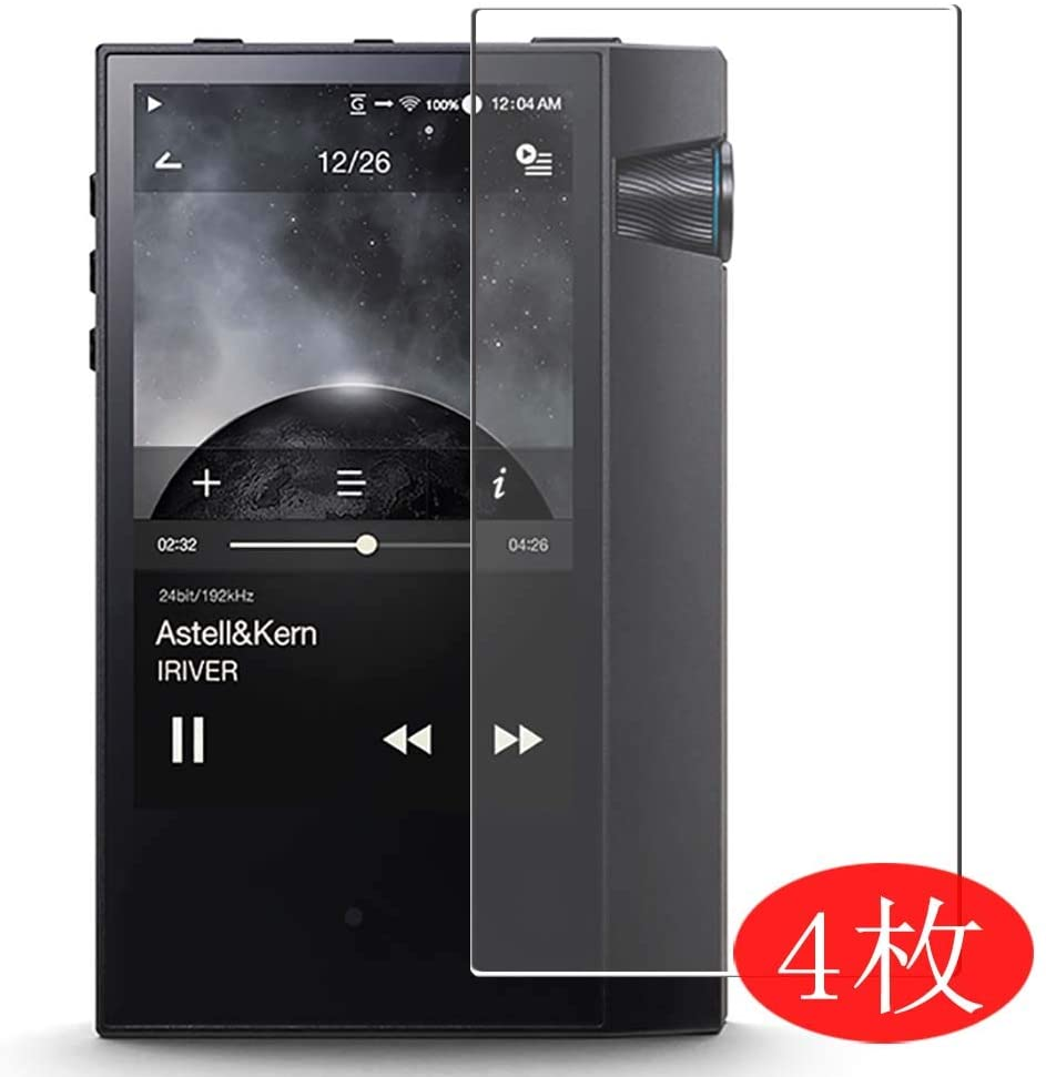 【4 Pack】 Synvy Screen Protector for Astell&Kern AK70 MKII Astell Kern 0.14mm TPU Flexible HD Clear Case-Friendly Film Protective Protectors [Not Tempered Glass] New Version