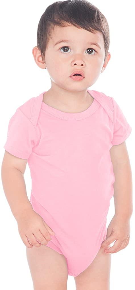 Kavio! Unisex Infants Lap Shoulder Short Sleeve Onesie (Same IJP0492)