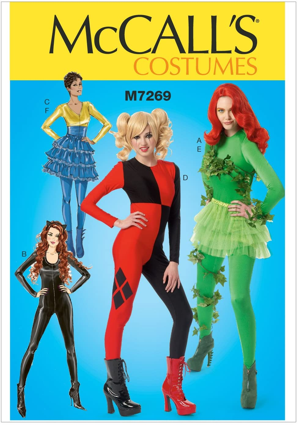 McCall's Patterns M7269 Bodysuits & Ruffled Skirts, AX5 (4-6-8-10-12)
