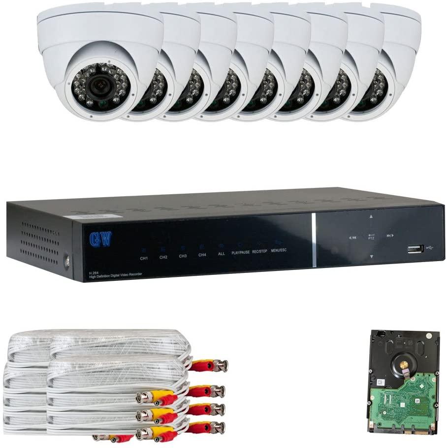 GW Security 9318AHD-726WH-8-1T 8