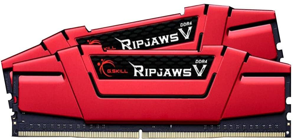 G.Skill Ripjaws V Series 8GB (2 x 4GB) 288-Pin SDRAM DDR4 2666 (PC4 21300) F4-2666C15D-8GVR