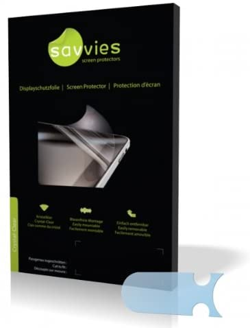 Savvies Crystalclear Screen Protector for Sony Walkman NWZ-B152F, Protective Film, 100% fits, Display Protection Film