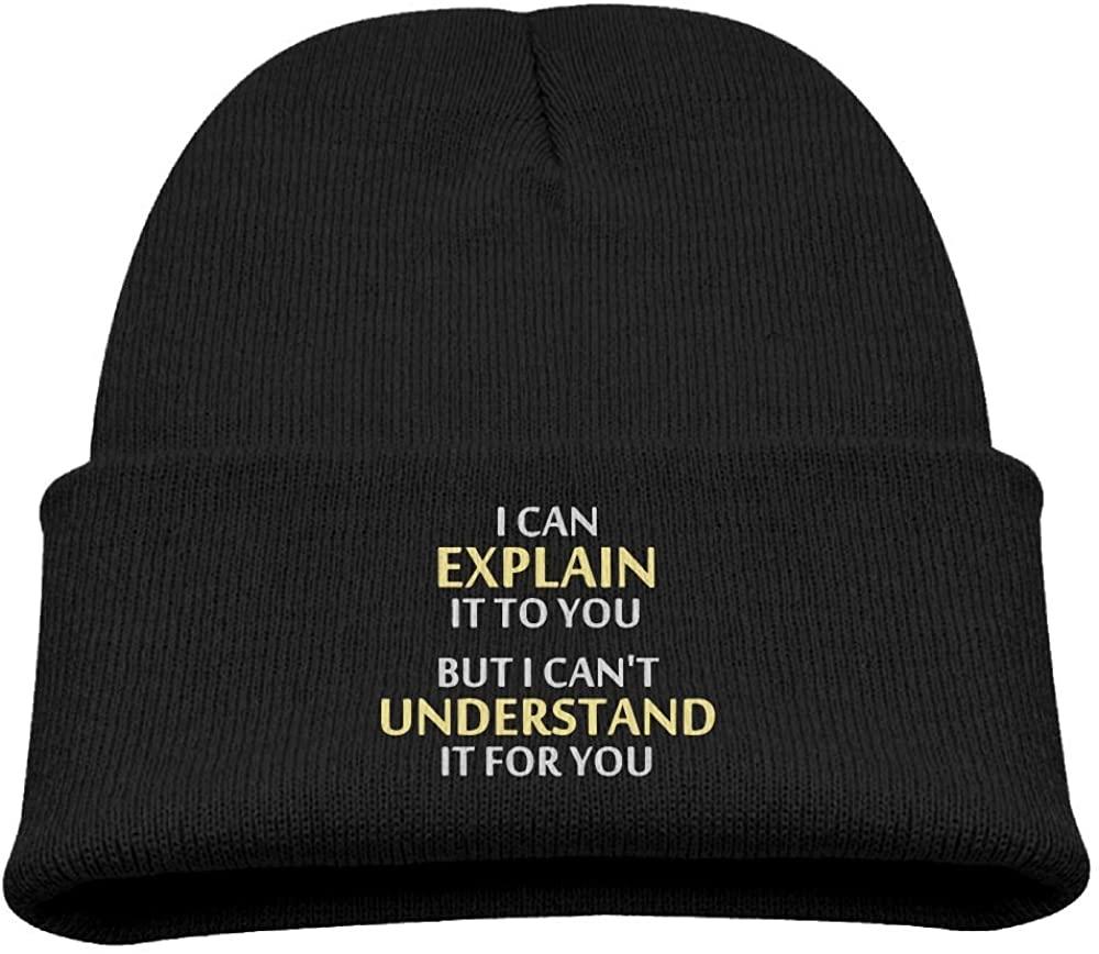 ZWZ Engineers Motto Kid's Hats Winter Funny Soft Knit Beanie Cap, Unisex