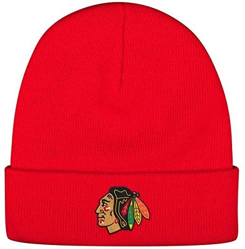 Reebok Mens 2017 NHL Basics Cuffed Knit Hat