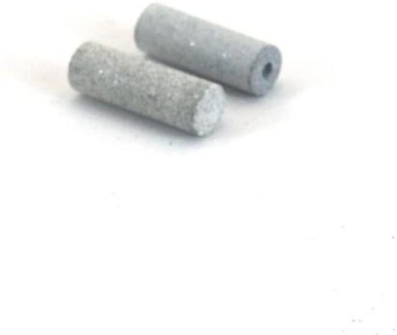 2 Unmounted Silicone 100 Grit Cylinder Polisher 13/16
