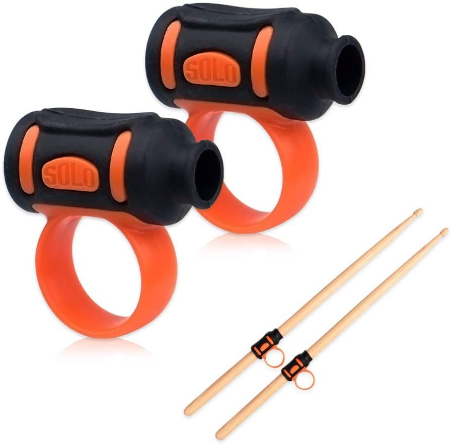 NABLUE Drum Stick Control Clip - Easy Stick Twirl, Grip or Control Clips, Spin Control Assist Device Stick Grip Clips for Beginner Drummer