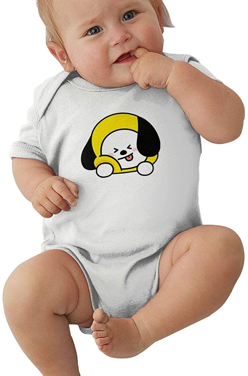Zhuru BTS CHIMMY Baby Jersey Bodysuit Cotton Bodysui