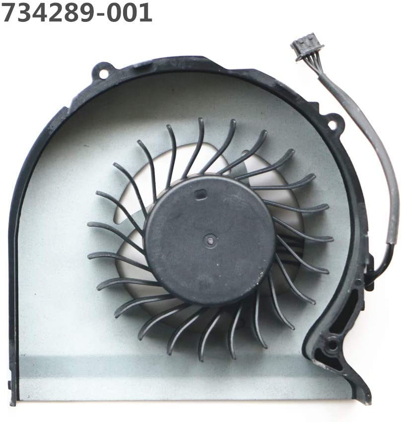 Laptop Replacement Cooler Fan for HP Zbook 15 CPU Cooling Fan 734289-001