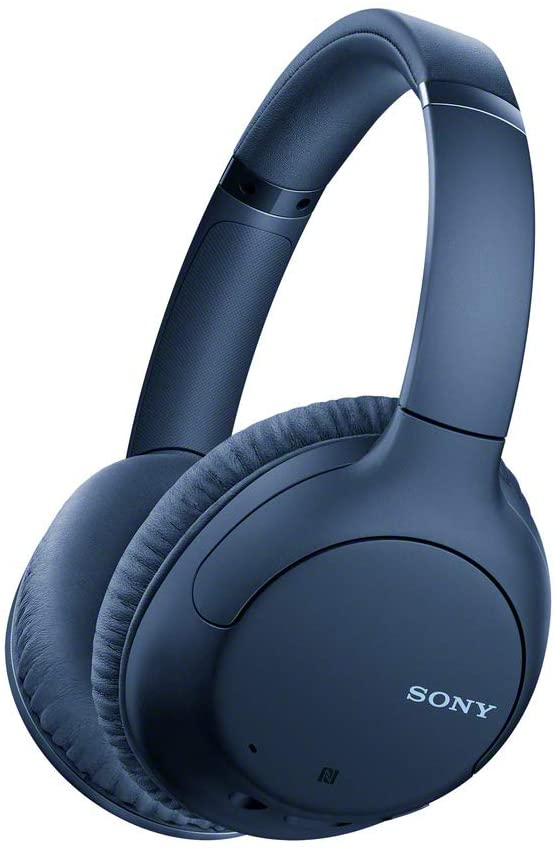 Sony Noise Cancelling Headphones WHCH710N: Wireless Bluetooth Over The Ear Headset with Mic for Phone-Call, Blue (DHgate Exclusive) (WHCH710N/L)
