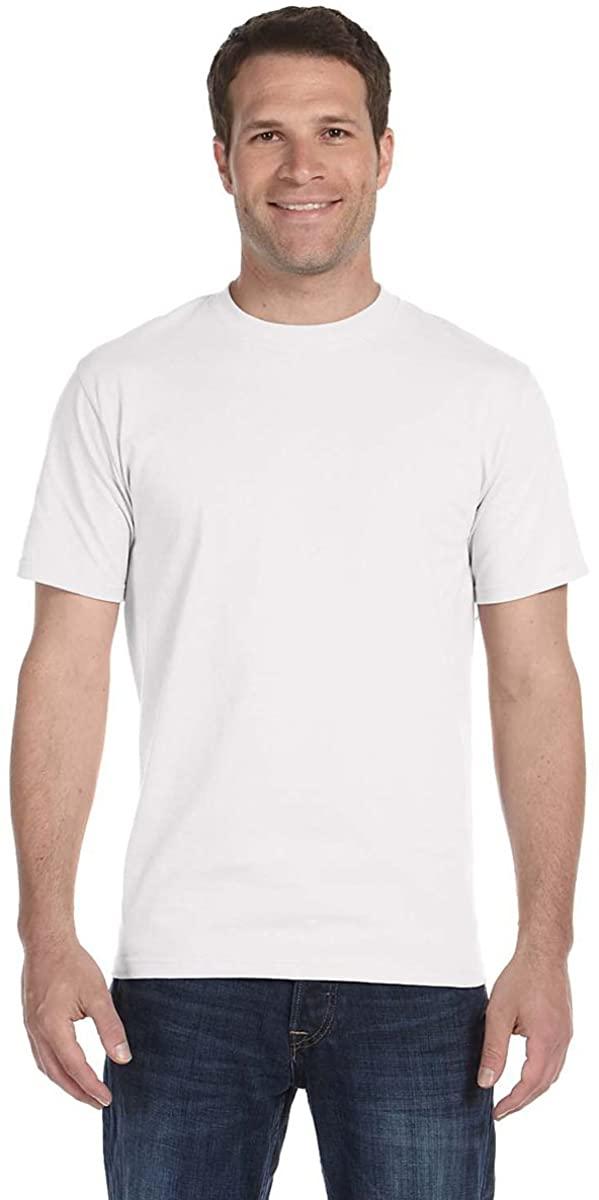 Gildan G8000 50% Cotton 50% Polyester DryBlend T-Shirt White 2XL 3 Pack