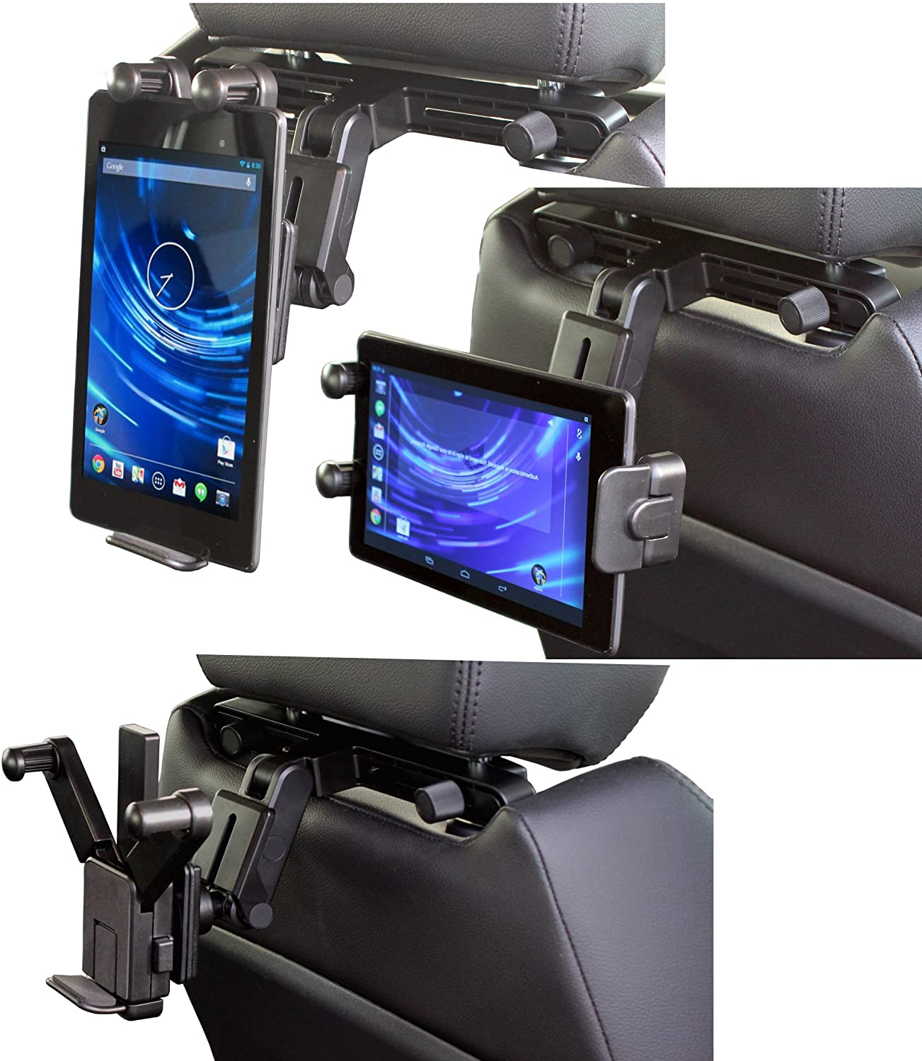 Navitech in Car Back of Seat Head Rest Mount Compatible with The Lenovo Think Pad