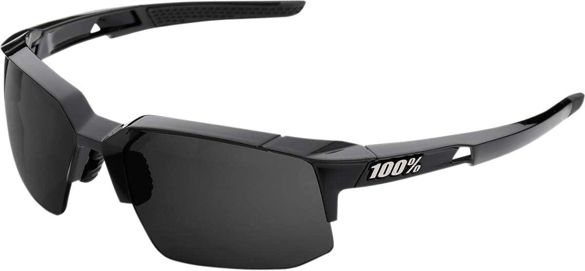 100% unisex-adult Speedlab (61031-001-47) Speedcoupe-Polished Black-Grey PEAKPOLAR Lens, Free Size