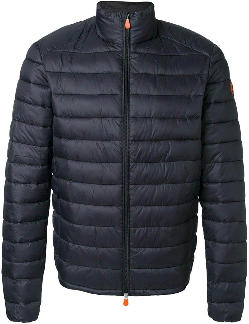 Save The Duck Luxury Fashion Man D3243MGIGA500001 Black Polyamide Down Jacket | Season Outlet