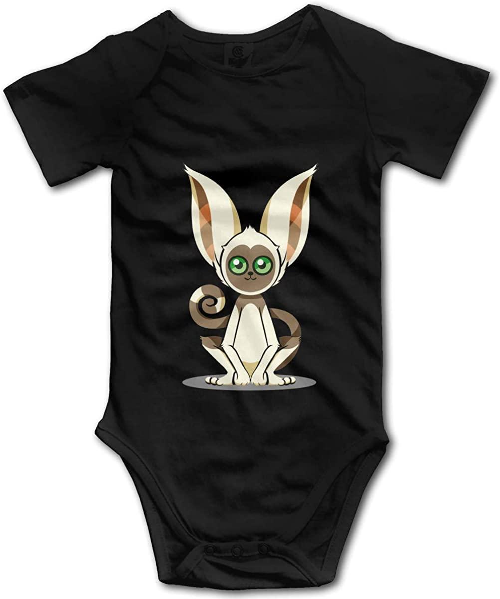 Avatar The Last Airbender Momo Unisex Baby Cotton Short Sleeve Bodysuits