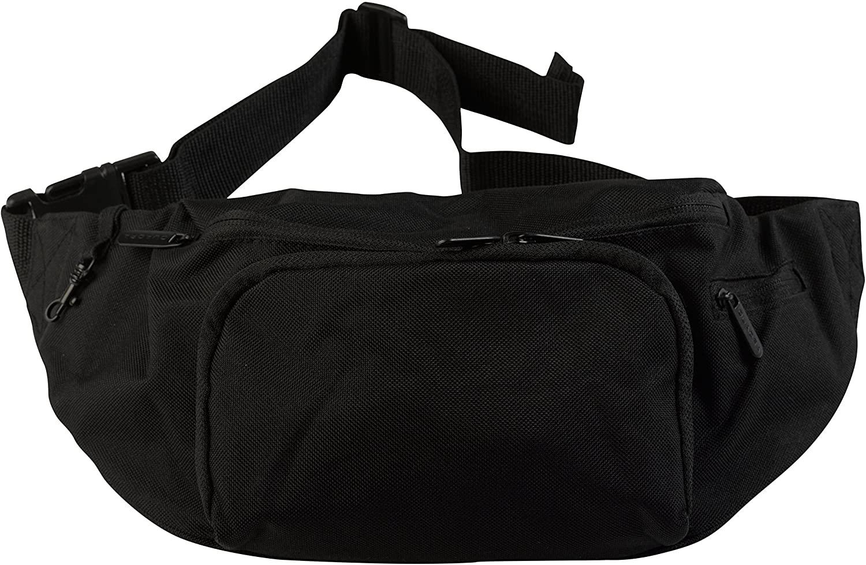 Quadra bum bag, hip pouch Black
