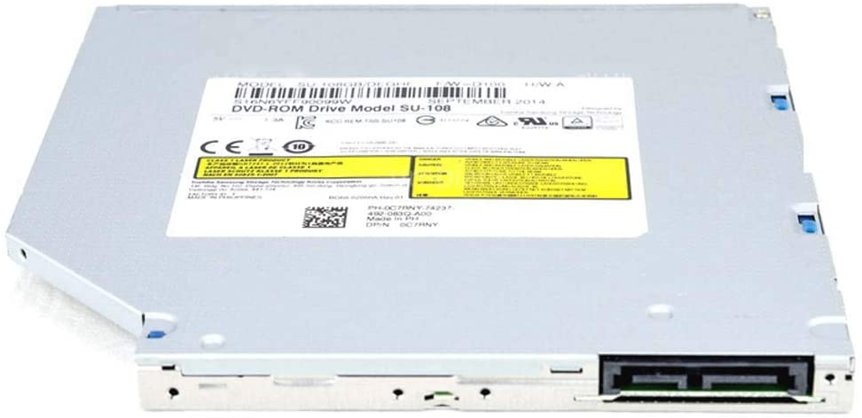 SATA CD DVD ROM Player Drive 9.5mm SU-108