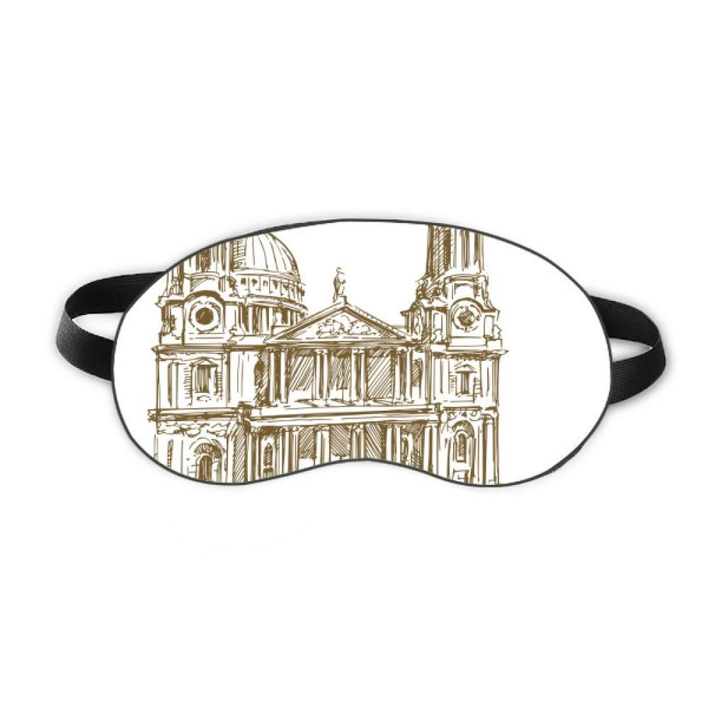 St.Paul's Cathedral England London Sleep Eye Shield Soft Night Blindfold Shade Cover