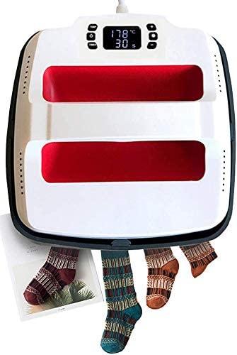 UOhost 9x9 Inch Heat Press Machine-Rapid Even-Heat Portable Heat Press Machine for t Shirts Bags Pillows HTV Vinyl Projects,Heating Transfer Printing Machine(Work Under 110-120 Voltage)