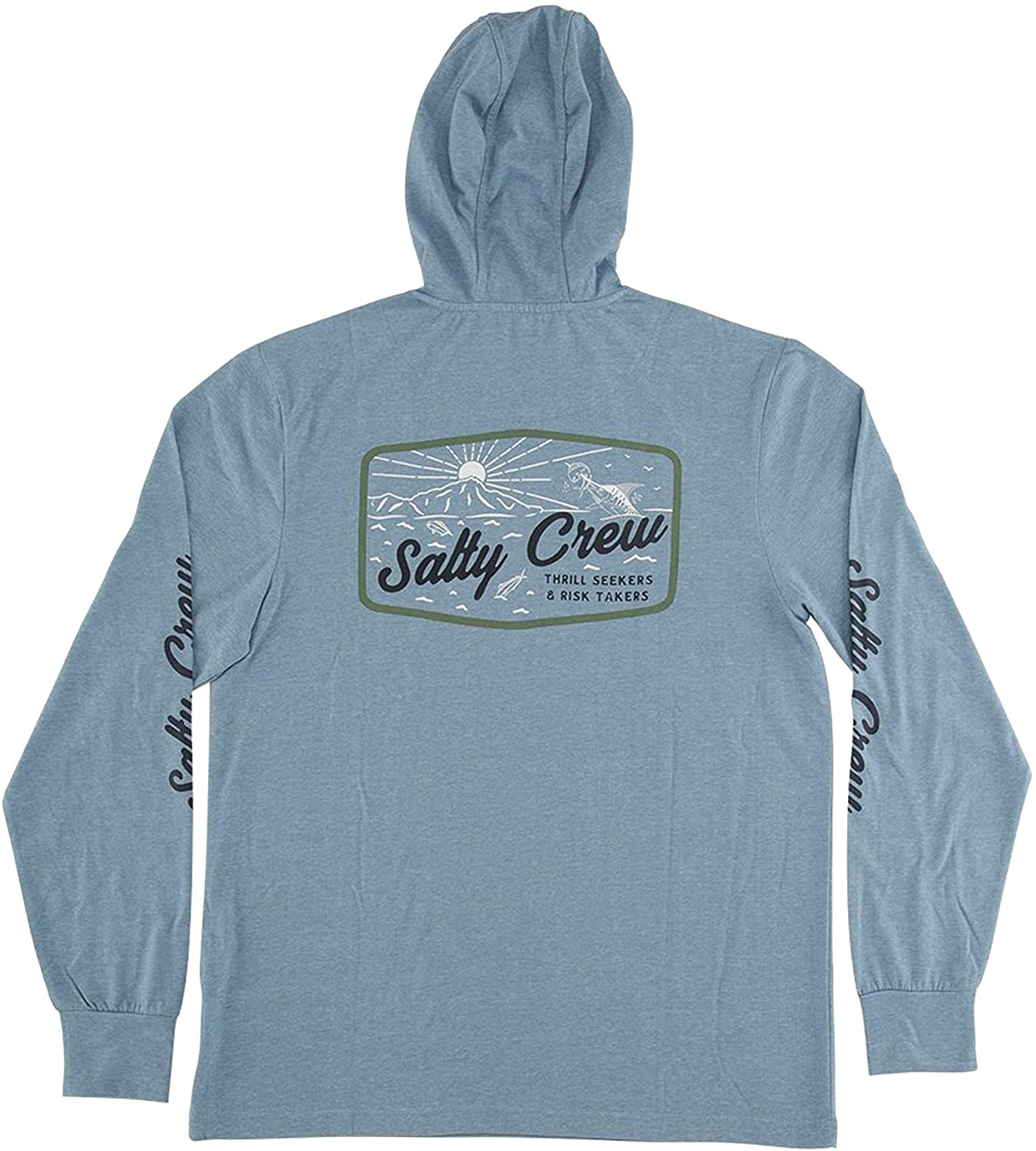 Salty Crew Frenzy Tech Pullover Hoody - Blue