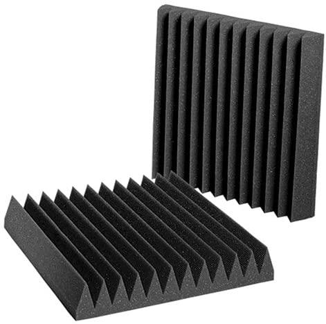 Auralex Acoustics Studiofoam Wedgies Acoustic Absorption Foam, 2