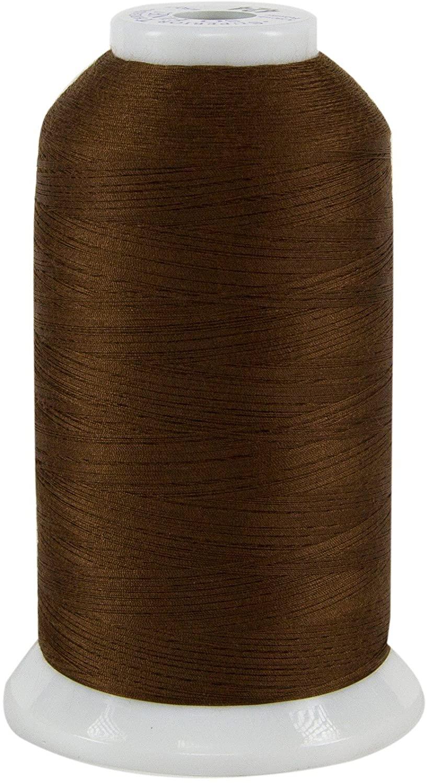 Superior Threads 11602-424 So Fine Chocolate 3-Ply 50W Polyester Thread, 3280 yd