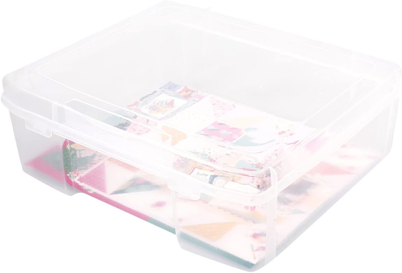 We R Memory Keepers 0633356602682 Storage Bins Storage & Decor-11 x 15-Large Craft and Photo Case