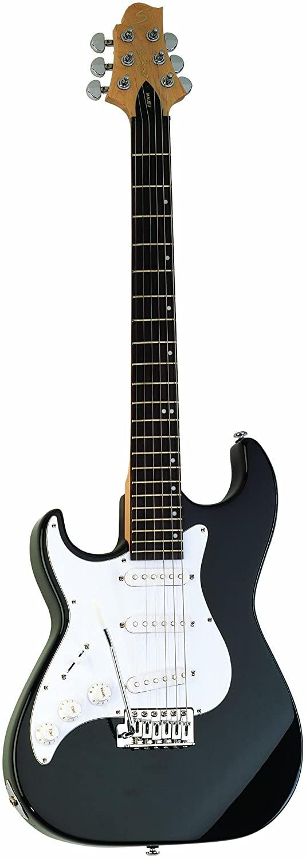 Samick Greg Bennett Design MB1LH Electric Guitar, Black