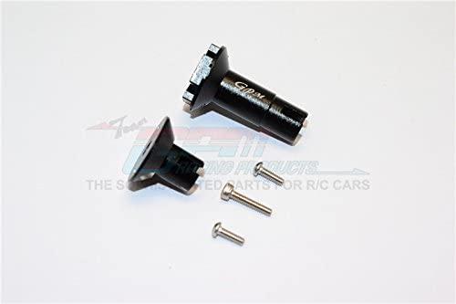 Axial Yeti Jr. Score Trophy Truck (AX90052) Upgrade Parts Aluminum Differential Outputs for Rear Gear Box - 1 Set Black