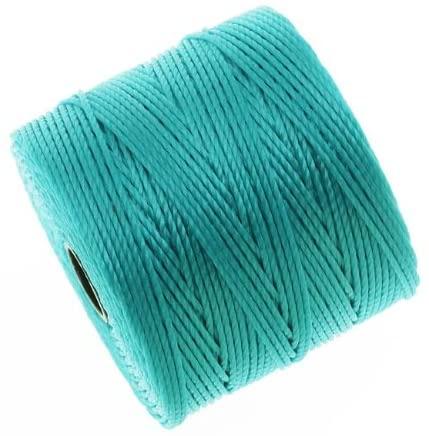 Super-Lon Cord - Size #18 Twisted Nylon - Aqua / 77 Yard Spool