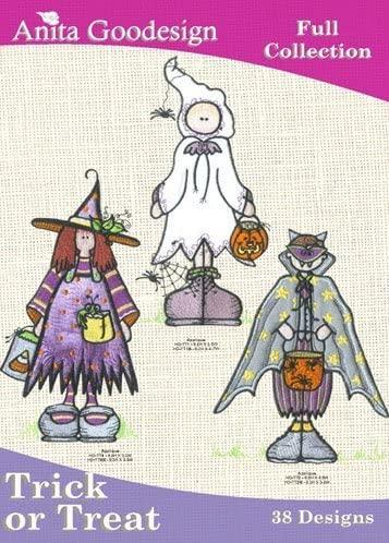 Anita Goodesign Embroidery Designs Cd Trick or Treat