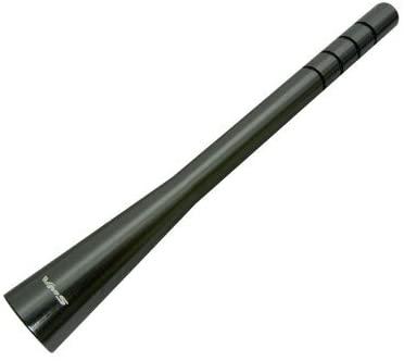 "117.5mm 4.65"" inch GUNMETAL CNC Machined Billet Aluminum ANTENNA for KIA SPORTAGE 05-15 (New Color) also called Gun Metal Dark Silver Gray Grey"