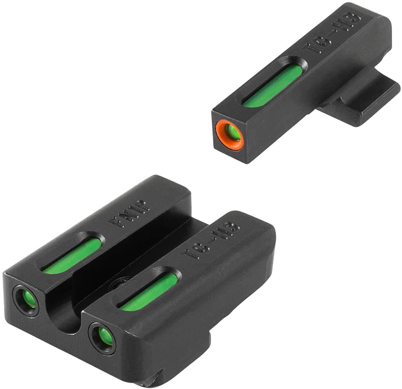 TRUGLO TFX Pro Tritium and Fiber Optic Xtreme Hangun Sights for FN Pistols