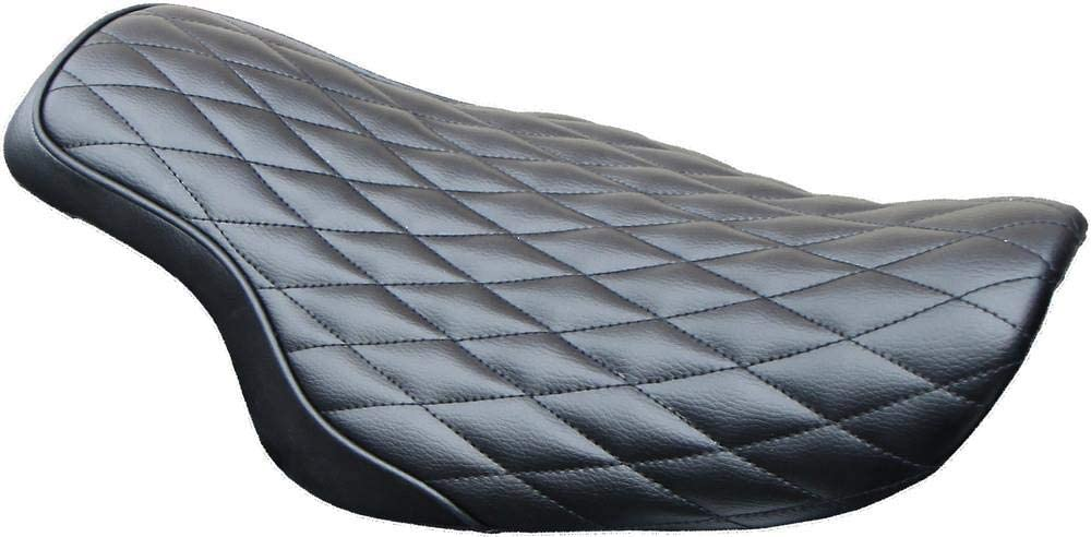 West-Eagle Motorcycle Products H0421 Solo Cobra Seat - Diamond