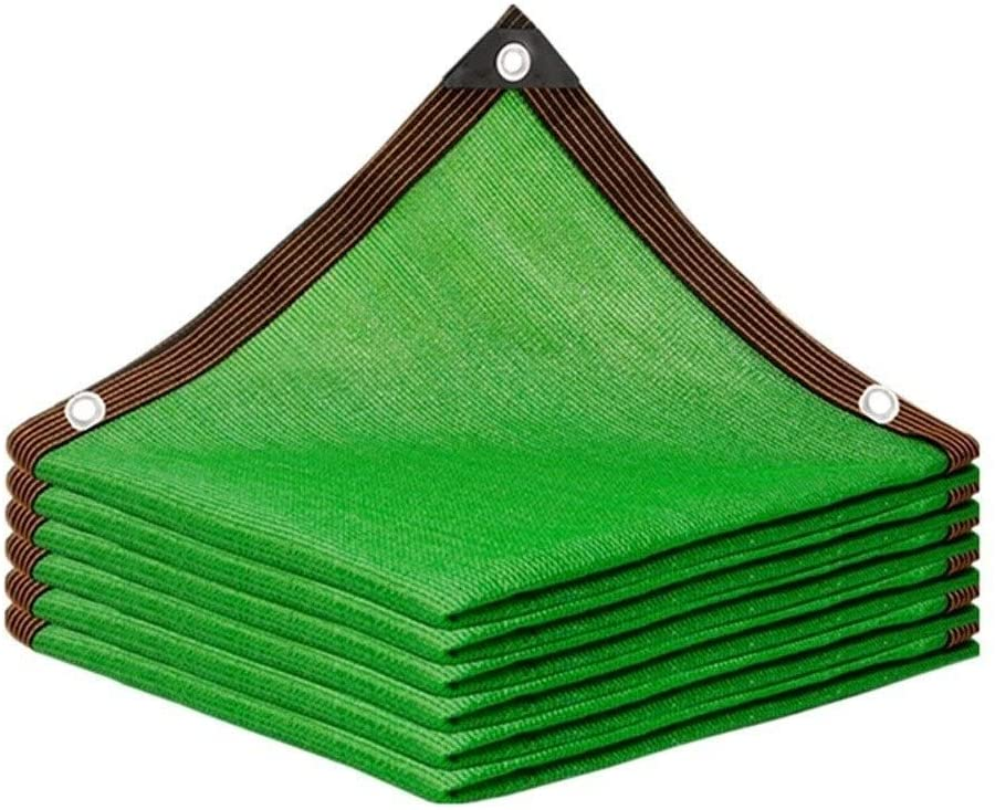 Agricultural Shade Cloth 85% Shading Rate Thicken Encryption Green Sun Shade Sail Sunblock Awning Canopy for Garden Patio Yard Party Run-anmy0807 (Color : Green, Size : 2 x 3m)