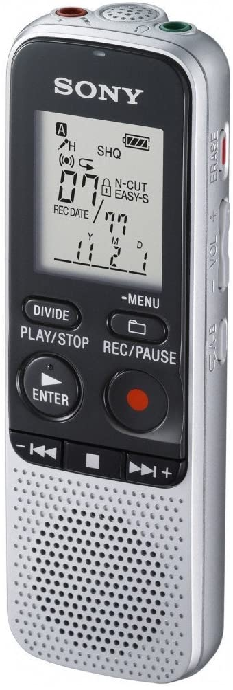 Sony Notetakers Icd-bx112 2gb Digital Voice Recorder - 2gb Flash Memory - Lcd - Portable