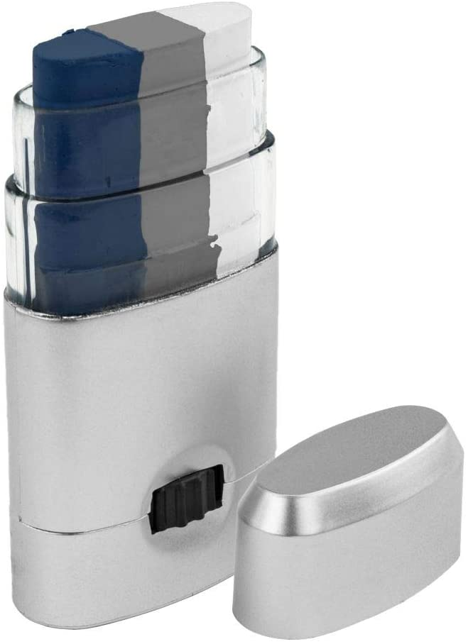 Artistry Closet Face Paint, Navy Blue Silver White