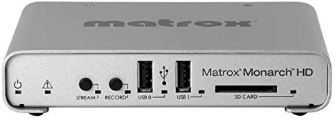 Matrox Monarch HD Simultaneous Live Streaming & Recording