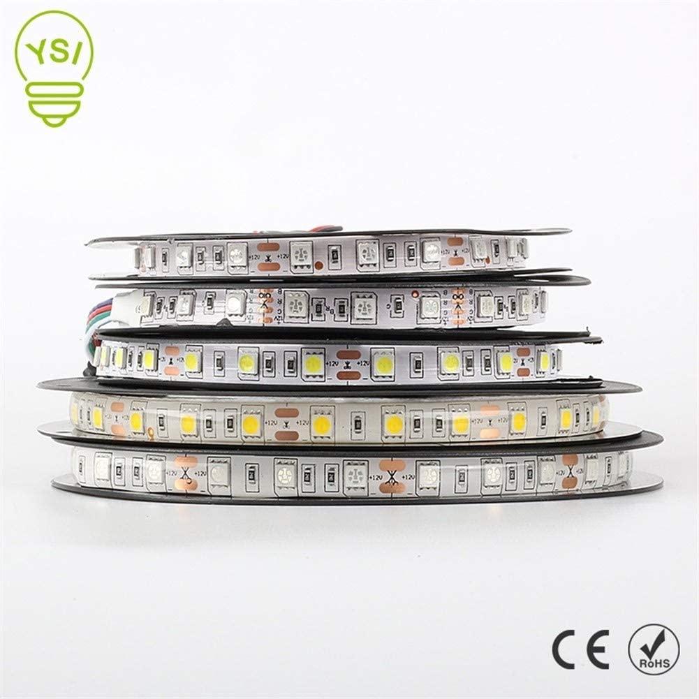 YYY Premium Led Strip Lights, Led Strip Lights with Remote 3528 60led/m Led Strip Lights for Bedroom Professional & Upgraded (Color : Green, Size : 5050 WP)