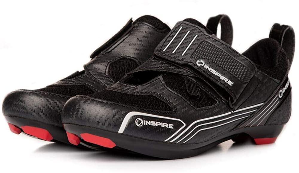 Inspire Fitness Men's Indoor Cycle Shoe - Black