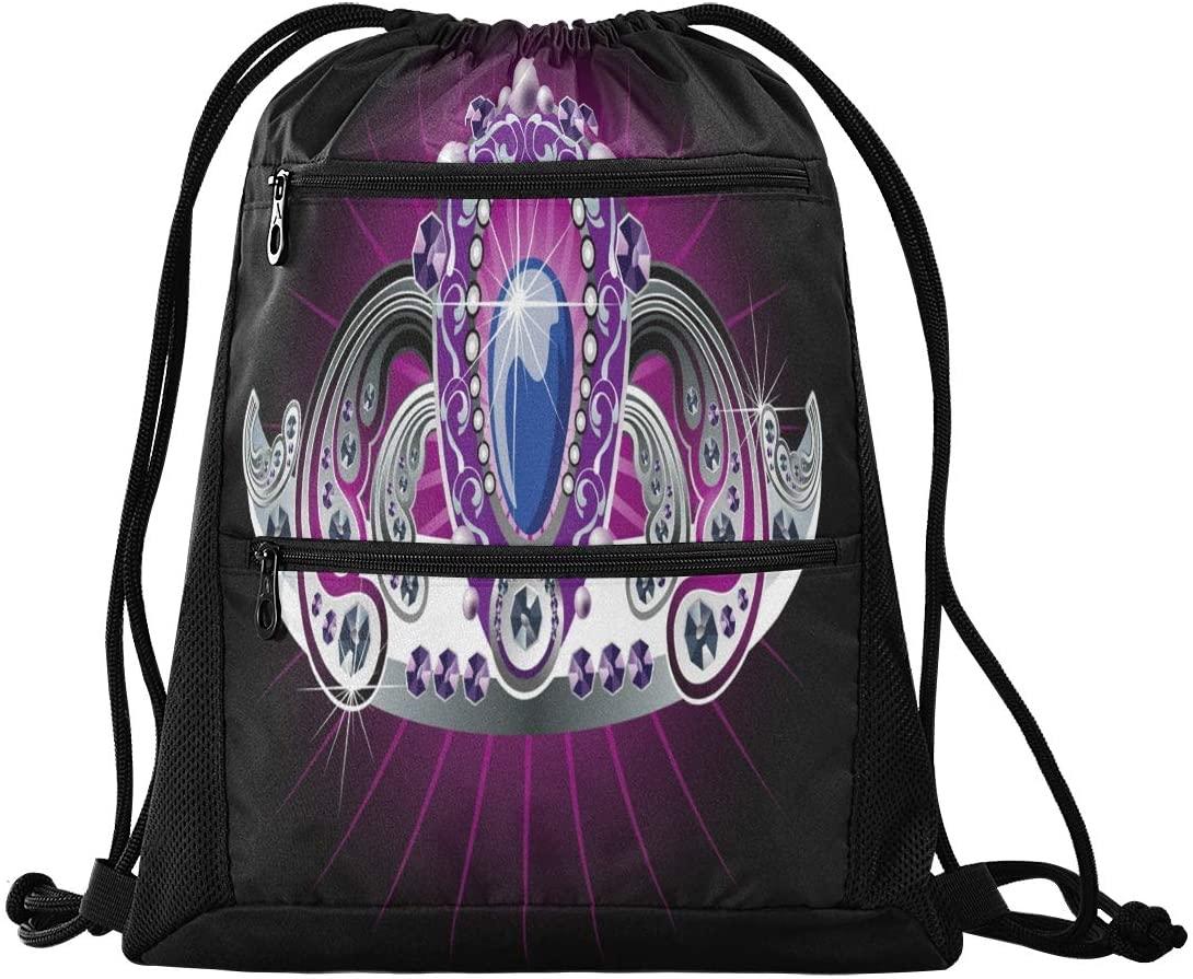 N /A Drawstring Backpack Bag Beautiful Cute Kitten Blue Eyes Gym Bag, Draw String Bags, Cinch Sack