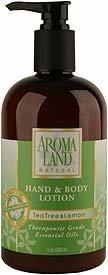 Tea Tree & Lemon Hand & Body Lotion by Aromaland