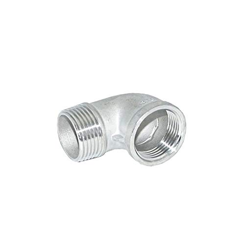 90 Degree Street Elbow Class 150#, Stainless Steel SS316 Material, 1/8