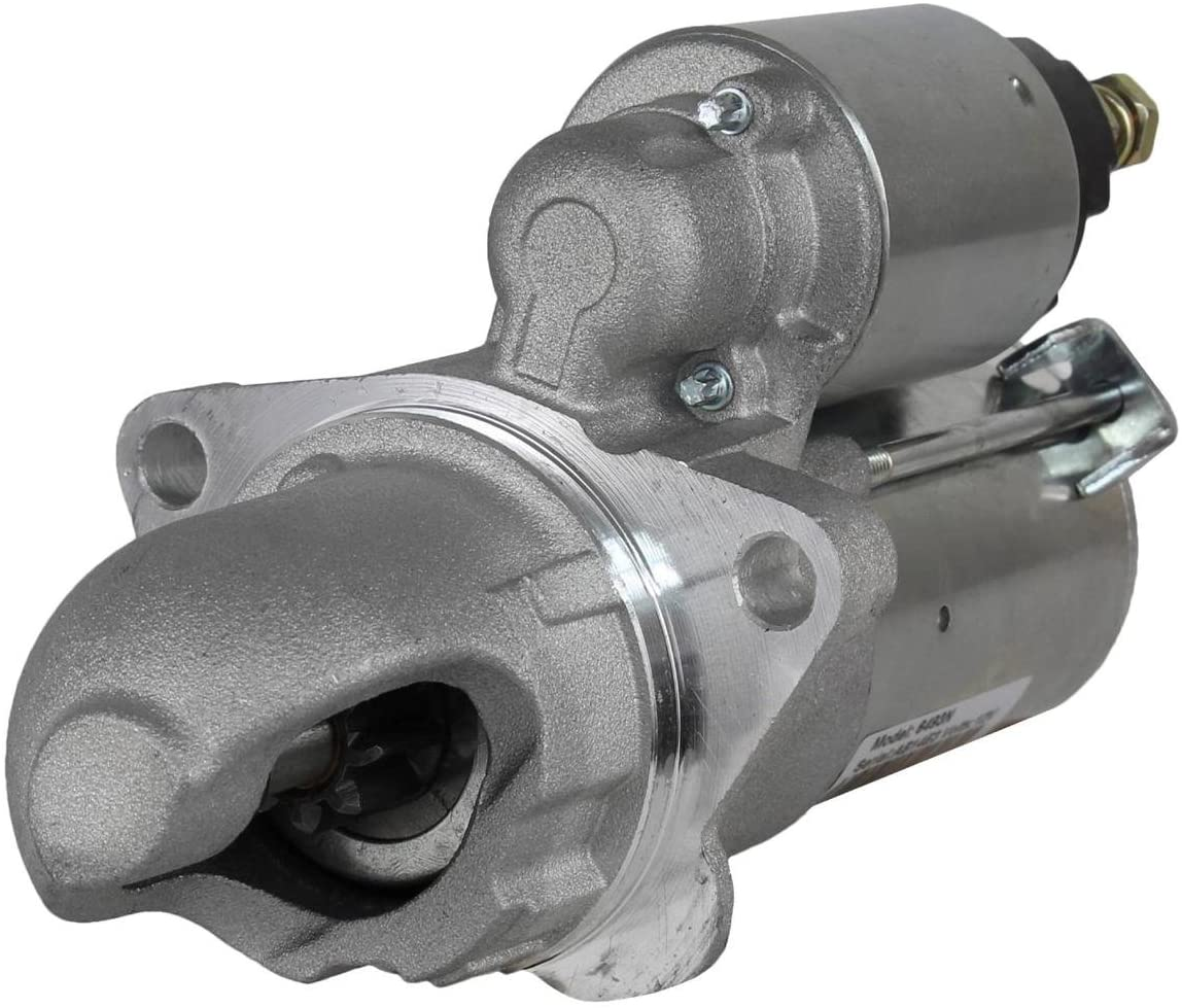 Rareelectrical NEW STARTER MOTOR COMPATIBLE WITH CHEVROLET COBALT 4 CYL 2.0L 2.2L 2.4L 2007 323-1642 3231642 8000079 89018113 12596233