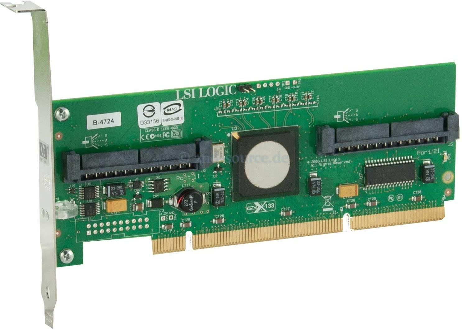 HP 8 Internal Port SAS HBA with RAID - Storage Controller (RAID) - SAS - PCI-X (347786-B21)