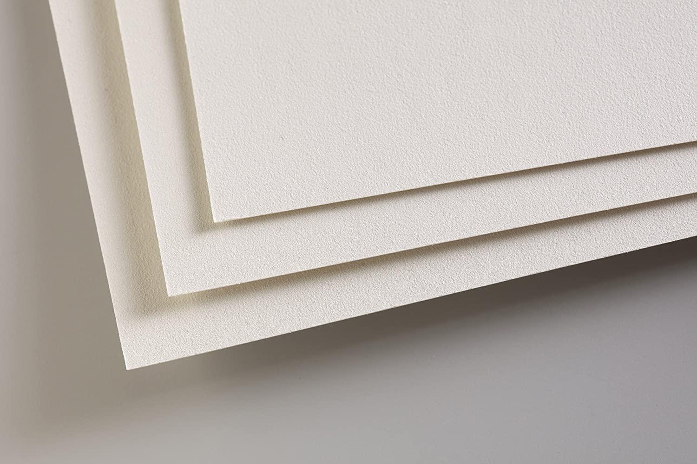 Clairefontaine PastelMat Paper Pack 5sh 24x32-Light, 24 x 32 cm, Light Grey