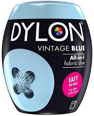 Dylon Machine Fabric Dye Pod Vintage Blue